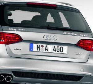 Chrombuchstaben 3D-Buchstaben für´s Auto selbstklebend